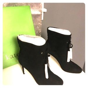 Kate Spade dillane in kid black suede